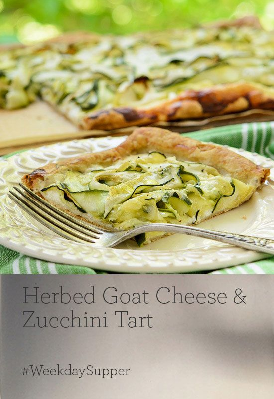 Gorgonzola Honey Leek Tart Recipe — Dishmaps
