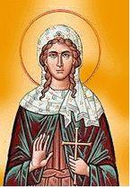 Icon of Saint Agatha.