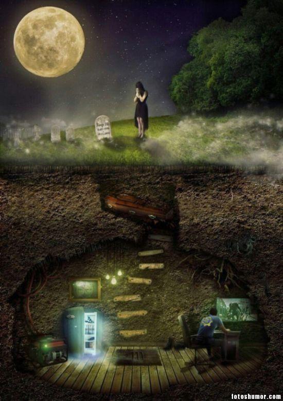 La muerte solo es la puerta a la diversión