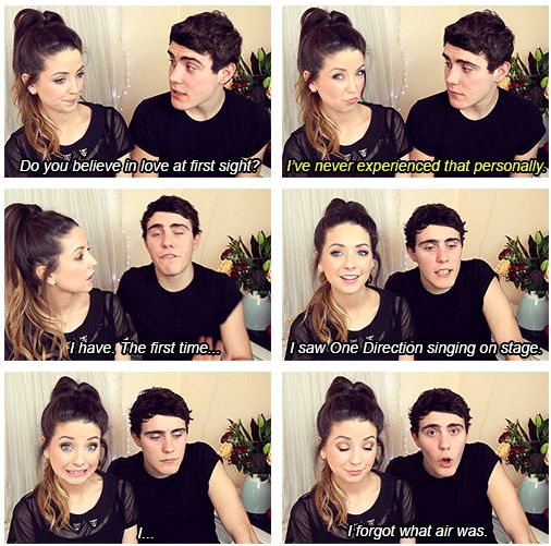 Alfie and Zoella are like my favorite British Youtubers. Any man who loves One Direction is my man.