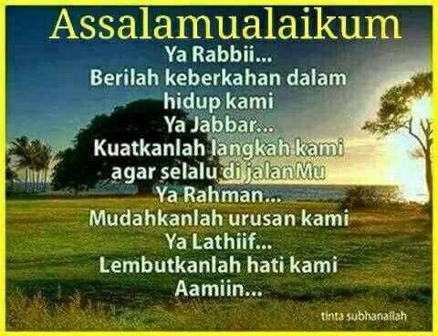Alhamdulillah bertemu lagi di hari Jumaat yang penuh barokah. Semoga disinari cahaya dan berkah dari Allah swt