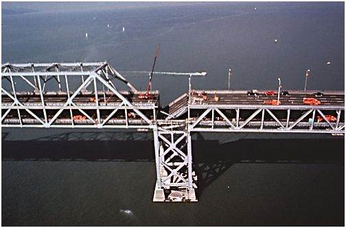 In 1989, the 7.0 Loma Prieta earthquake damaged the Bay Bridge. The bridge is now getting a seismic update to prevent future damage in earthquakes.