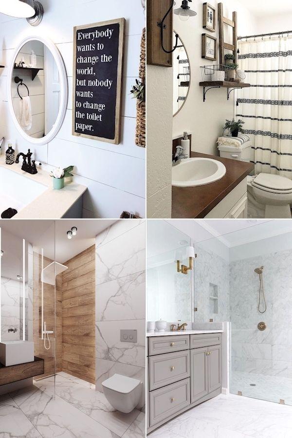 Pin On Room Ideas Black and gray bathroom decor
