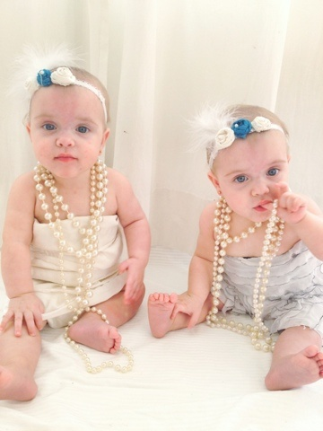 Have thought identical twin girls consider