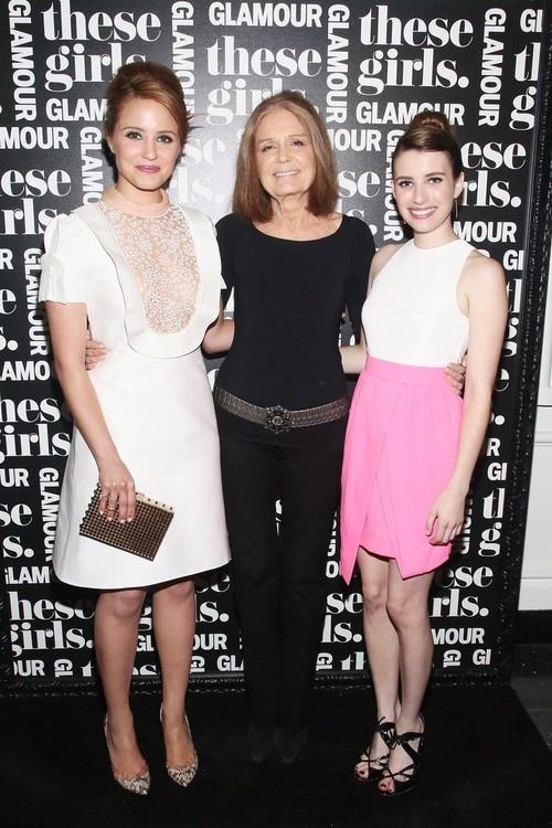Emma Roberts at Glamour Presents These Girls at Joe's Pub in NY on May 20, 2013