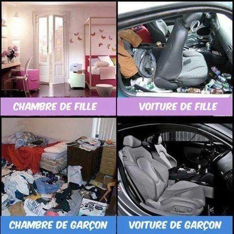 Images Filles vs garçons Images drôles Photos Homme / Femme sur Humour.com
