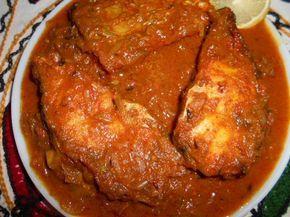 Rui Macher Kalia / Spicy Rohu Fish Curry