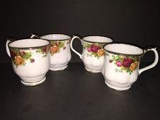 4 - Royal Albert England Old Country Roses Bone China kávé csokoládé Csészék Bögrék