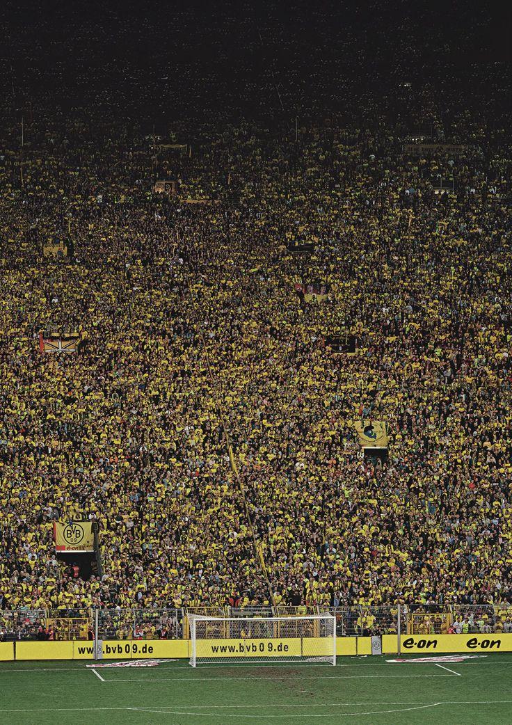 Yellow Wall, Dortmund, Germany
