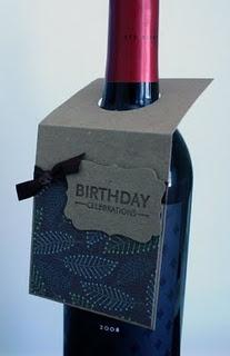 DIY Wine Bottle Tag