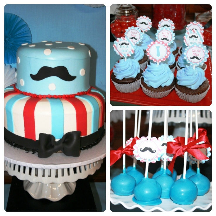 Baby Shower Mustache Theme: Pinterest: Discover And Save Creative Ideas