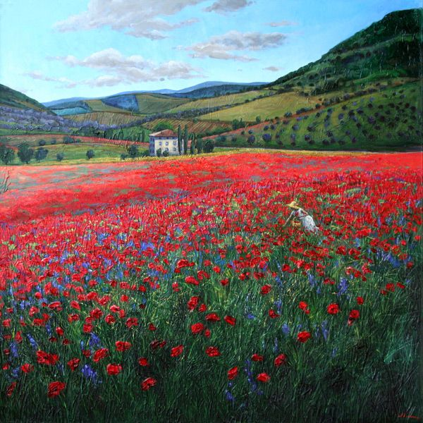 Poppy Paradise by Jennifer Vranes