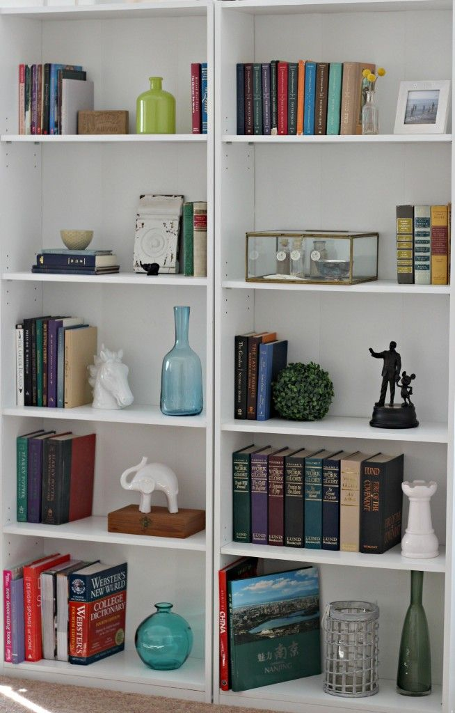 117 best images about bookcase styling on pinterest - Living room shelves decorating ideas ...