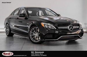 2018 Mercedes-Benz AMG C 63 For Sale in Santa Monica CA | Stock: JF635998 CARBON