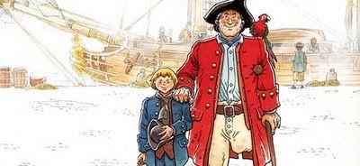 El comic europeo en españa: La isla del tesoro