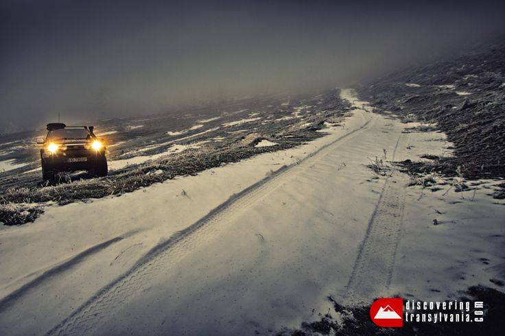 winter 4x4 expedition Transylvania