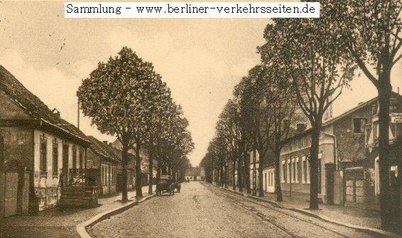Die Straßenbahn der Teltower Kreisbahnen (Ansicht der Teltower Lindenstraße (heute Potsdamer Straße) um 1925)