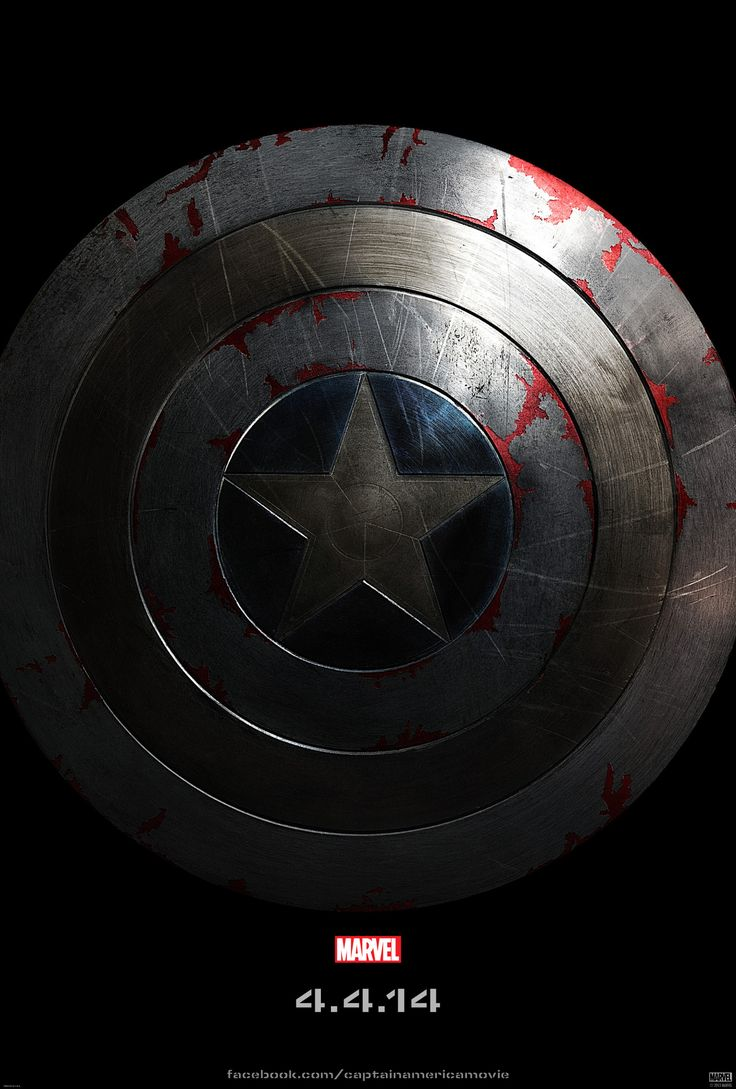 Captain America Winter Soldier Movie Shield Mens T-Shirt