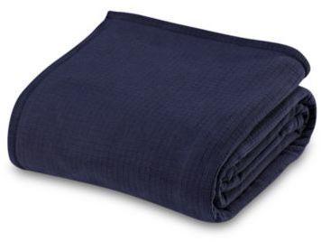 Berkshire Blanket® Polartec® SoftecTM Full/Queen Blanket in Midnight Blue