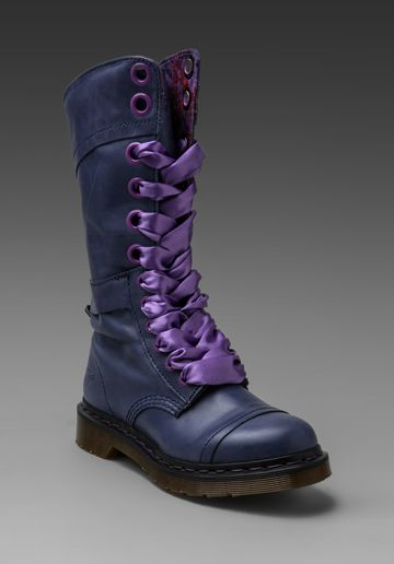 Dr. Martens Triumph 14-Eye Boot in Navy