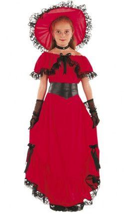 Deguisement Enfant Scarlett Rouge