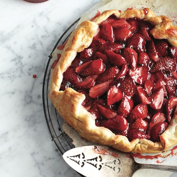 Strawberry galette. No pie plate required. This free-form pie is a rustic dessert you can fill with a variety of berries – but we're making a date with this version as soon as strawberry season gets underway. - Chatelaine