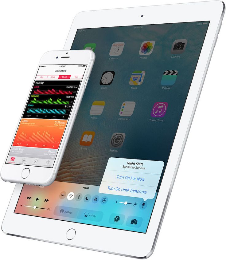 Apple Canada's iOS 9.3 Preview Page Hints at Night Shift Toggle in Control Center