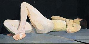 uglow | Flatness vs. volume: Pepe's Painting (1984-85) by Euan Uglow