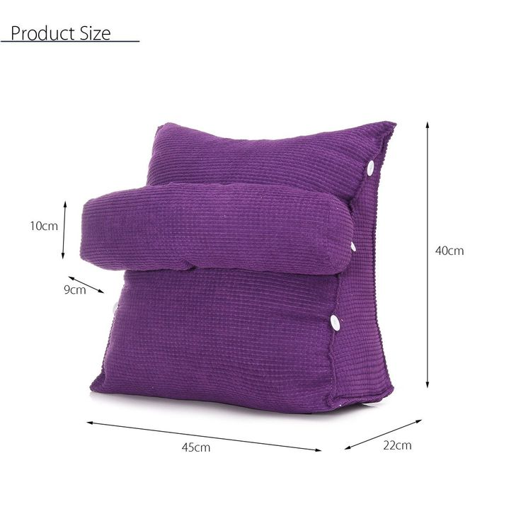 back support pillow for chair walmart