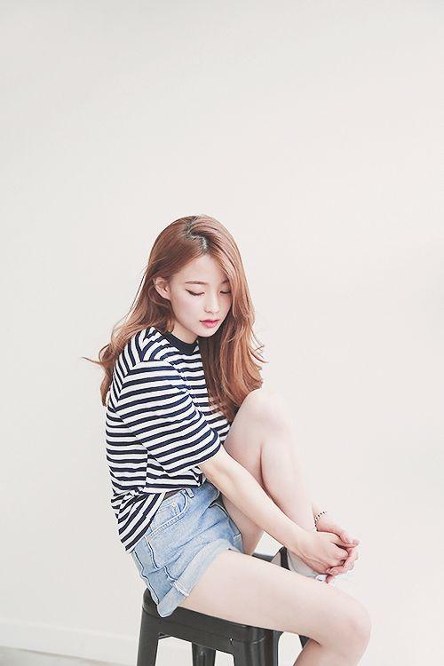 mode coréenne, vêtements, équipement, short, style, mode à la Corée, modèle…