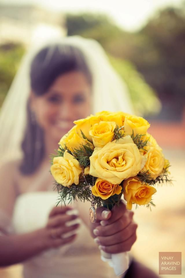 Yellow roses is great! Photo by Vinay Aravind Images, Chennai #weddingnet #wedding #india #indian #indianwedding #weddingdresses #ceremony #realwedding #weddingoutfits #outfits #bride #groom #photoshoot #photoset #hindu #photographer #photography #inspiration #gorgeous #fabulous #beautiful #magnificient #love #europeanwedding #сristianwedding