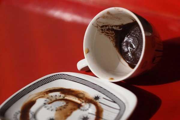 فال قهوه روش گرفتن فال قهوه تصویری مجله تصویر زندگی Food Tableware Glassware