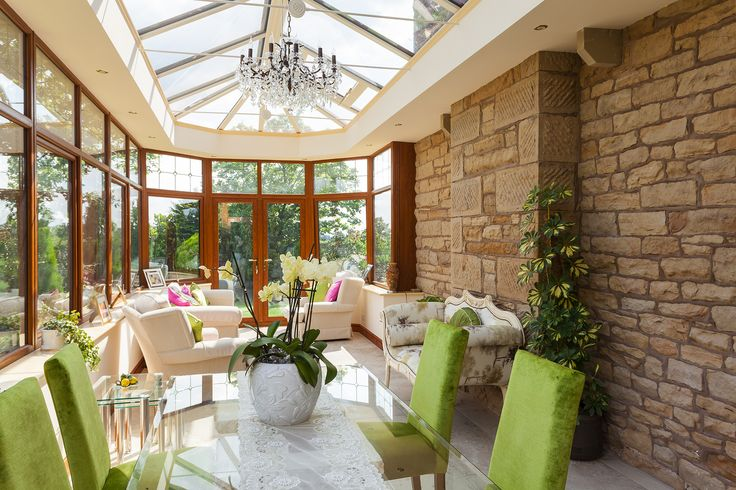 Stunning conservatory for a period property