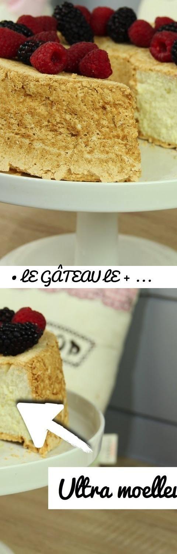 ♡• LE GÂTEAU LE + MOELLEUX AU MONDE ! | RECETTE ANGEL CAKE •♡... Tags: recette angel cake, recette gateau moelleux, recette facile et rapide, l'atelier de roxane, chaine cuisine, chaine patisserie, chaine patisserie