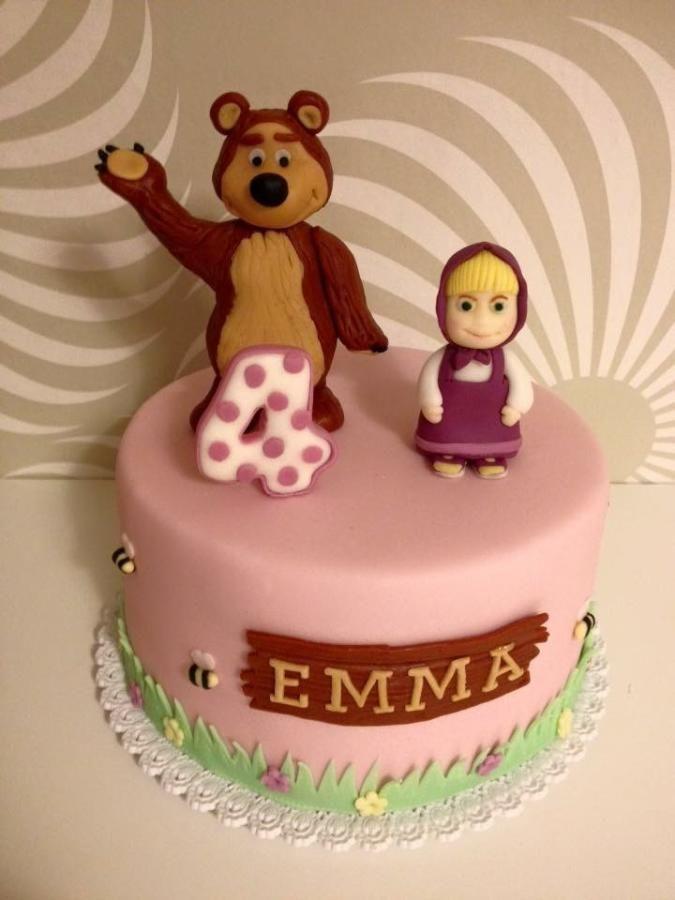 Masha and the bear - Cake by Dasa