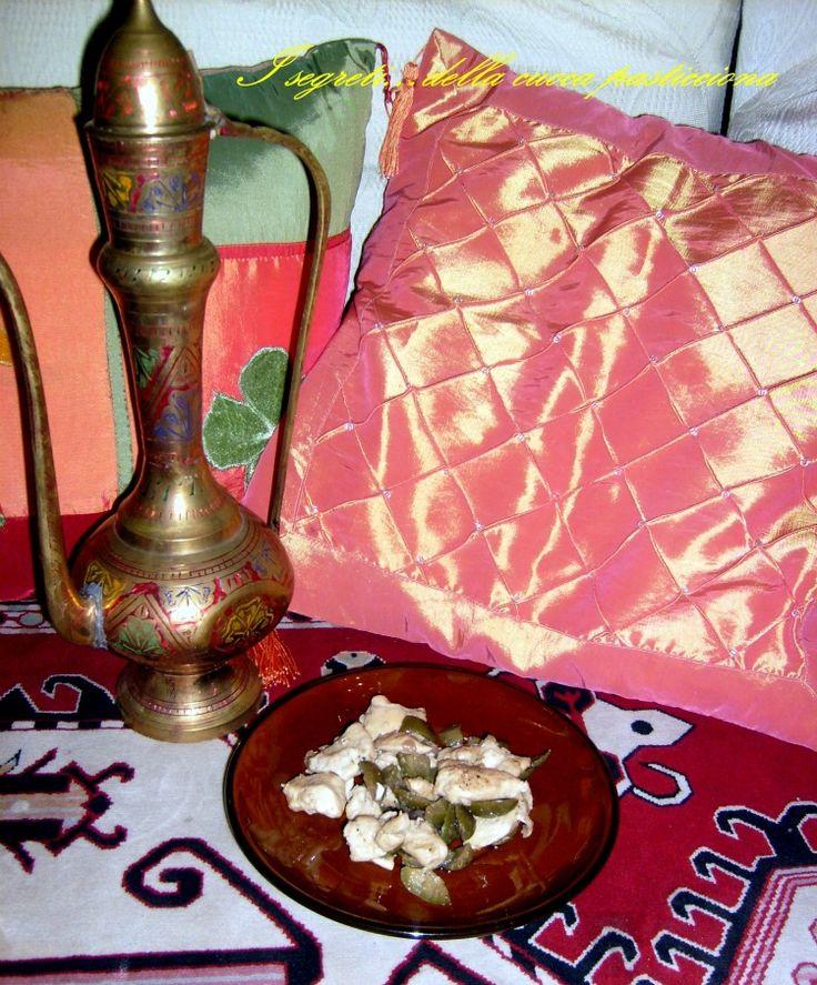 Pollo con olive alla marocchina