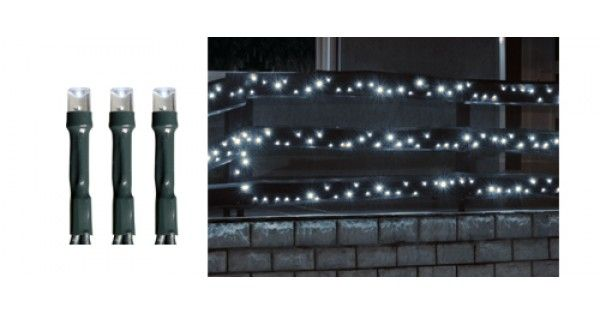 Ghirlandă cu LED, 1000 buc LED-uri albe, lumină rece, pt exterior, 70MKKL 1000/WHDescriere:Instalatie de craciun pentru exterior de tip ghirlanda cu o lungime de 70 m si cu 1000 de leduri cu lumina statica. Culoarea instalatiei de Craciun este alb rece.Caracteristici si