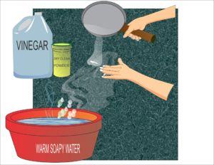 Remover manchas de tinta de seu carpete ou tapete