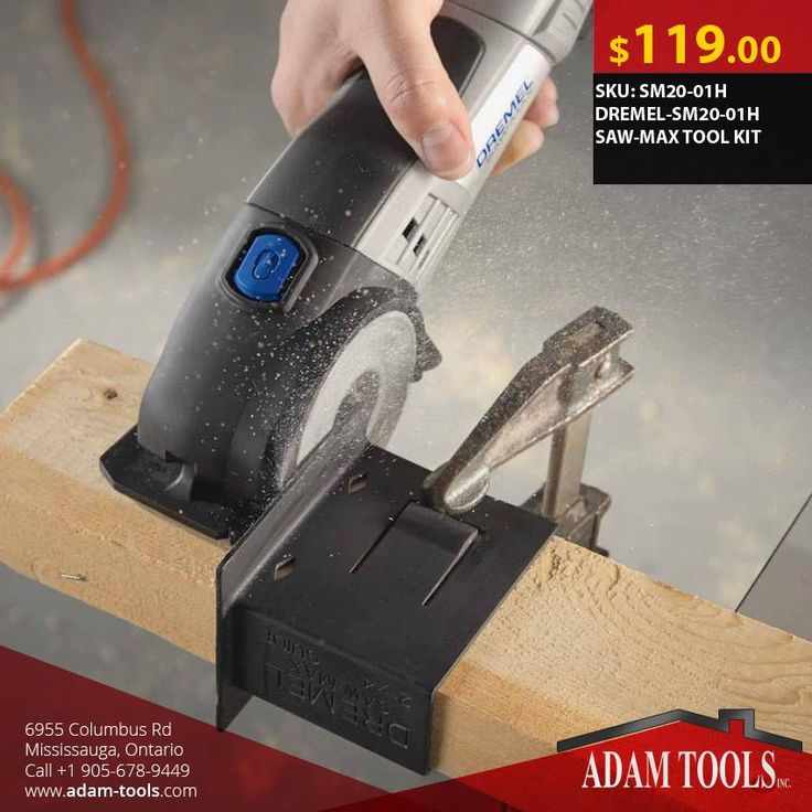 Great deals here at Adam Tools Inc. Get the Bosch DREMEL-SM20-01H SAW-MAX TOOL KIT for just $119!  Visit our website for more information and special offers  https://www.adam-tools.com/dremel-sm20-01h-saw-max-tool-kit.html #canada #mississuaga #power_tools #building_supplies #adamtools #shop_online #buy_online #BoschTool #Powertools #tools #Boschtools #Toolkit #SM20-01H