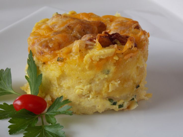 Cheese and Bacon Pudding @ http://allrecipes.com.au