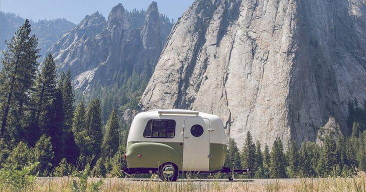 imagen 1 de Happier Camper, caravanas retro para escapadas 'más felices'.