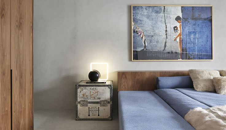 Decoração de Quarto de Solteiro estilo simples de luxo | Para um jovem solteiro pode optar por objetos decorativos diferentes e arrojados.
