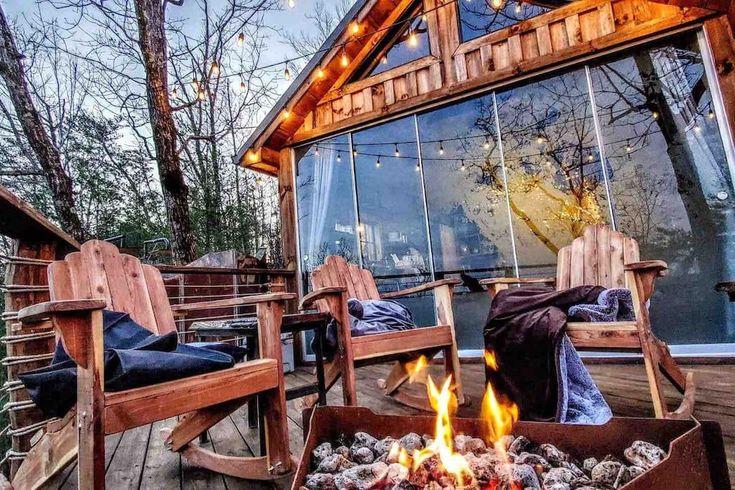 Mountaintop luxury treehouse at selah ridge treehouses