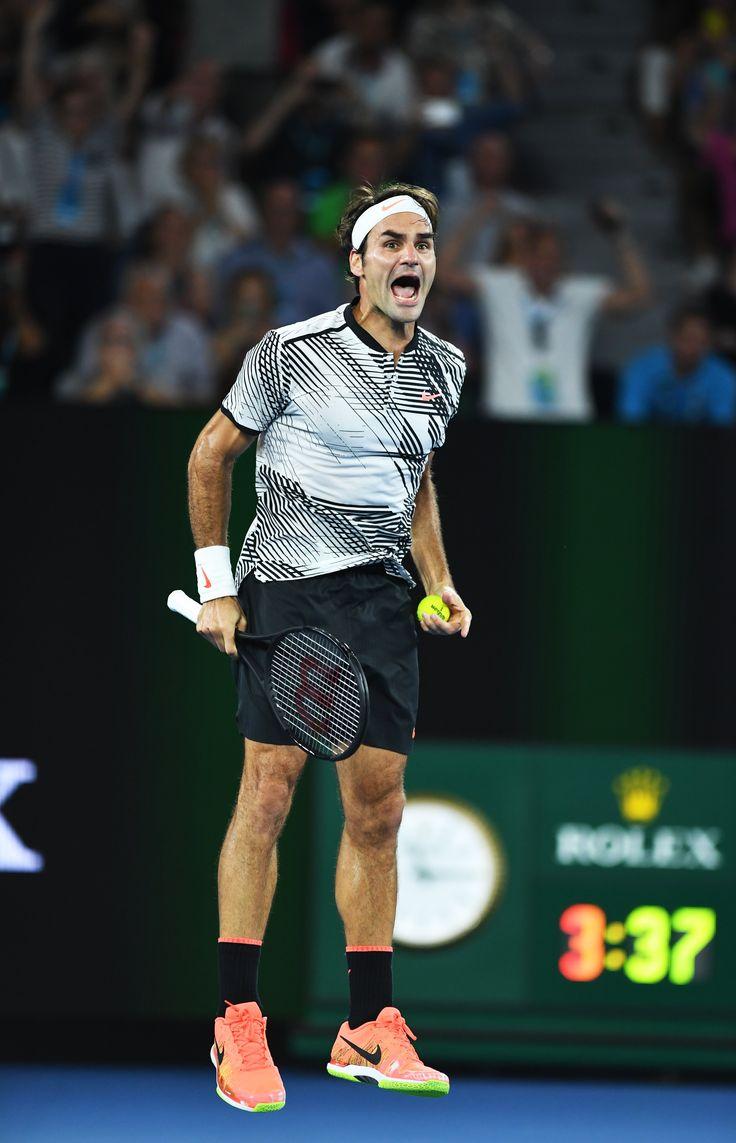 Australian Open 2017 men's final: Roger Federer v Rafael Nadal –in pictures