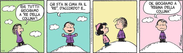 Peanuts 5 gennaio 2015