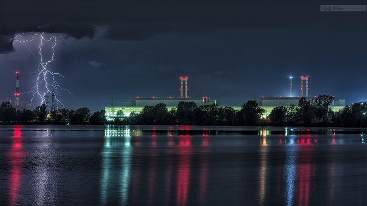 Flashing Energies ,Nuclear Power Plant, Paks, Hungary  by Czakó Balázs on 500px
