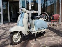 Vintage Italian Scooter Lambretta - Download From Over 59 Million High Quality Stock Photos, Images, Vectors. Sign up for FREE today. Image: 35885453