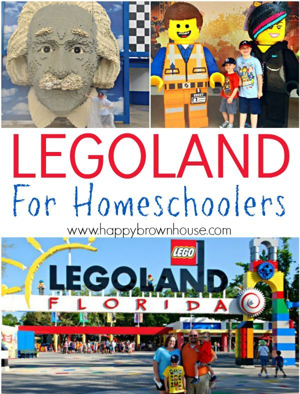 Did you know that Legoland has Homeschool Days?! Tips for visting Legoland Florida for homeschool families. If you have a lego lover, you'll love these tips for discount Legoland tickets, staying cool, education ideas for your trip, and more. Even if you