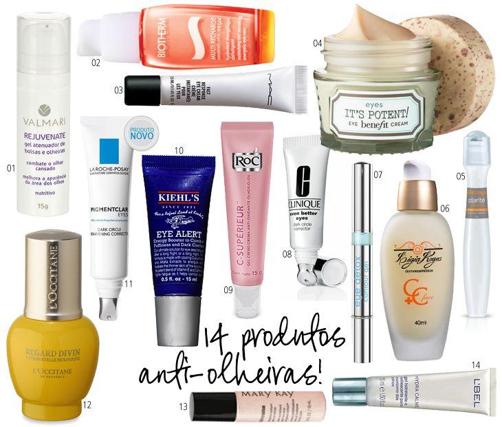 14 cosméticos para diminuir as olheiras!