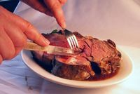 This easy au jus recipe is perfect for roasted beef recipes like prime rib. You can also modify the au jus to serve with roasted chicken, lamb or veal.